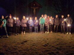 Weihnachtsfeier der Jungmarketenderinnen und Jungschützen